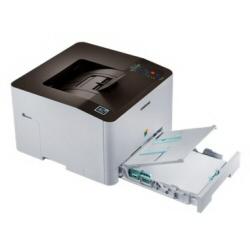 Imprimante laser Samsung Xpress C1810W - Imprimante - couleur - laser - A4/Legal - jusqu'à 18 ppm (mono) / jusqu'à 18 ppm (couleur) - capacité : 250 feuilles - USB 2.0, Gigabit LAN, Wi-Fi(n)