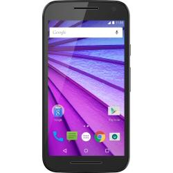 "Smartphone Motorola Moto G (3rd Gen.) - Smartphone - 4G LTE - 16 Go - microSDHC slot - GSM - 5"" - 1 280 x 720 pixels (294 ppi) - 13 MP (caméra avant de 5 mégapixels) - Android - noir"