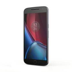 """Smartphone Motorola Moto G4 Plus - Smartphone - double SIM - 4G LTE - 16 Go - microSDXC slot - GSM - 5.5"""" - 1 920 x 1 080 pixels (401 ppi) - IPS - 16 MP (caméra avant de 5 mégapixels) - Android - noir"""