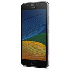 """Smartphone Motorola Moto G5 Plus - Smartphone - 4G LTE - 32 Go - microSDXC slot - GSM - 5.2"""" - 1 920 x 1 080 pixels (424 ppi) - IPS - 12 MP (caméra avant de 5 mégapixels) - Android - gris lunaire"""