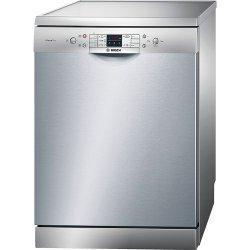 Lave-vaisselle Bosch SilencePlus ActiveWater SMS53L18EU - Lave-vaisselle - pose libre - largeur : 60 cm - profondeur : 60 cm - hauteur : 84.5 cm - inox