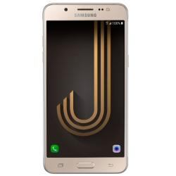"""Smartphone Samsung Galaxy J7 (2016) - SM-J710FN - smartphone - 4G LTE - 16 Go - microSDXC slot - GSM - 5.5"""" - 1 280 x 720 pixels - Super AMOLED - 13 MP (caméra avant de 5 mégapixels) - Android - or"""