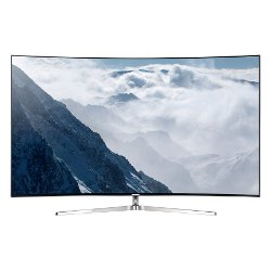"TV LED Samsung UE55KS9000T - Classe 55"" - 9 Series incurvé TV LED - Smart TV - 4K SUHD (2160p) - HDR - local dimming, Quantum Dot technology, Precision Black Local Dimming, Supreme UHD dimming - argenté(e)"