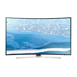 "TV LED Samsung UE55KU6100K - Classe 55"" - 6 Series incurvé TV LED - Smart TV - 4K UHD (2160p) - HDR - UHD dimming - noir"