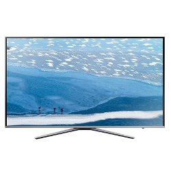 "TV LED Samsung UE55KU6400U - Classe 55"" - 6 Series TV LED - Smart TV - 4K UHD (2160p) - HDR - UHD dimming, Micro Dimming - argenté(e)"