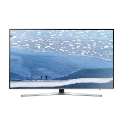 "TV LED Samsung UE55KU6470U - Classe 55"" - 6 Series TV LED - Smart TV - 4K UHD (2160p) - HDR - UHD dimming - argenté(e)"