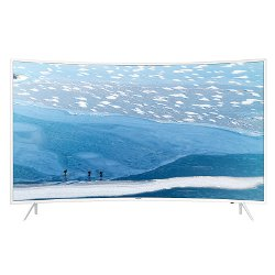 "TV LED Samsung UE55KU6510U - Classe 55"" - 6 Series incurvé TV LED - Smart TV - 4K UHD (2160p) - HDR - UHD dimming - blanc"