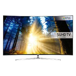 "TV LED Samsung UE65KS9000T - Classe 65"" - 9 Series incurvé TV LED - Smart TV - 4K SUHD (2160p) - HDR - local dimming, Quantum Dot technology, Precision Black Local Dimming, Supreme UHD dimming - argenté(e)"