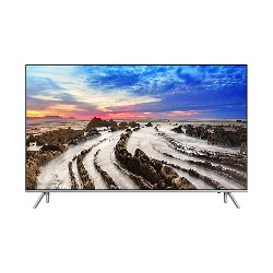 "TV LED Samsung UE75MU7000T - Classe 75"" - 7 Series TV LED - Smart TV - 4K UHD (2160p) - HDR - local dimming, UHD dimming - argenté(e)"