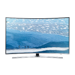 "TV LED Samsung UE78KU6500U - Classe 78"" - 6 Series incurvé TV LED - Smart TV - 4K UHD (2160p) - HDR - UHD dimming - argenté(e)"
