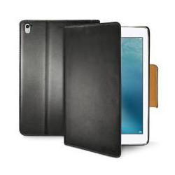Coque Celly Wally - Protection à rabat pour tablette - plastique, synthétique - noir - pour Apple 9.7-inch iPad Pro
