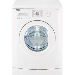 Lave-linge Beko WB 10106 IT - Machine à laver - pose libre - largeur : 60 cm - profondeur : 50 cm - hauteur : 84 cm - chargement frontal - 6 kg - 1000
