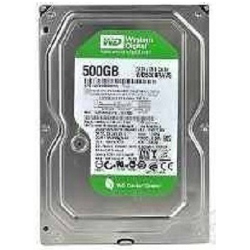 Hard disk interno WESTERN DIGITAL - 500gb av-green 64mb