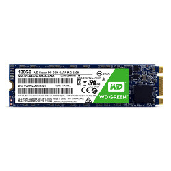 SSD WESTERN DIGITAL - WD Green 120GB M2