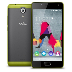 "Smartphone Wiko U FEEL LITE - Smartphone - double SIM - 4G LTE - 16 Go - microSDXC slot - GSM - 5"" - 1 280 x 720 pixels (294 ppi) - IPS - 8 MP (caméra avant de 5 mégapixels) - Android - citron vert"