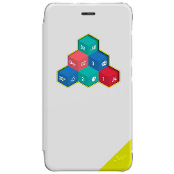 Cover Wiko - FOLIO WICUBE WHITE