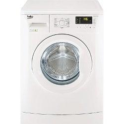 Lave-linge Beko WMB71233M - Machine à laver - pose libre - largeur : 60 cm - profondeur : 50 cm - hauteur : 84 cm - chargement frontal - 7 kg - 1200 tours/min - blanc