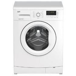 Lave-linge Beko WMB81233M - Machine à laver - pose libre - largeur : 60 cm - profondeur : 54 cm - hauteur : 84 cm - chargement frontal - 8 kg - 1200 tours/min - blanc