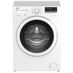 Lave-linge Beko WTV8633XW0 - Machine à laver - pose libre - profondeur : 54 cm - hauteur : 84 cm - chargement frontal - 8 kg - 1200 tours/min - blanc