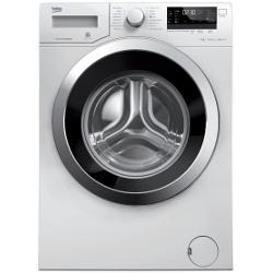 Lave-linge Beko WTV8734XC0 - Machine à laver - pose libre - largeur : 60 cm - profondeur : 54 cm - hauteur : 84 cm - chargement frontal - 8 kg - 1400 tours/min - blanc