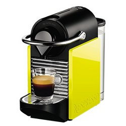 Expresso et cafetière Krups Nespresso Pixie XN3020K - Machine à café - 19 bar - citron vert / noir