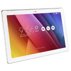 "Tablette tactile ASUS ZenPad 10 Z300M - Tablette - Android 6.0 (Marshmallow) - 16 Go eMMC - 10.1"" IPS (1280 x 800) - Logement microSD - blanc perle"