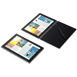 "Tablette tactile Lenovo YOGA Book ZA16 - Conception inclinable - Atom x5 Z8550 / 1.44 GHz - 4 Go RAM - 64 Go SSD - 10.1"" IPS 1920 x 1200"