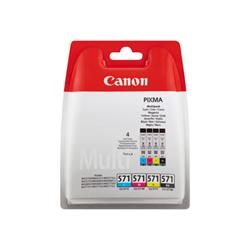 Serbatoio Canon - Cli-571 c/m/y/bk value pack - confezione da 4 0386c005