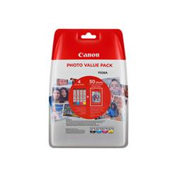Cartuccia Canon - Cli-571 c/m/y/bk photo value pack - confezione da 4 0386c006