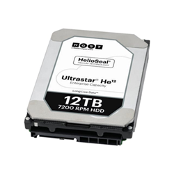 Hard disk interno HGST - He12 12tb  sas 512e ise p3