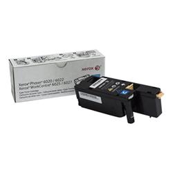 Toner Xerox - Workcentre 6027 - ciano - originale - cartuccia toner 106r02756