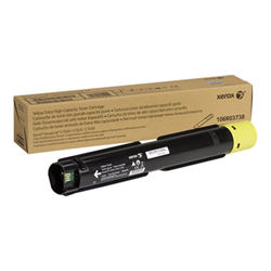 Toner Xerox - Versalink c7020/c7025/c7030 - extra high capacity - giallo 106r03738