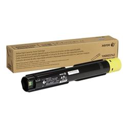 Toner Xerox - Versalink c7020/c7025/c7030 - giallo - originale - cartuccia toner 106r03742