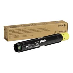 Toner Xerox - Versalink c7000 - alta capacità - giallo - originale - cartuccia toner 106r03758
