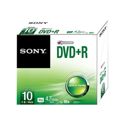 Sony - Dvd r 16x slim case