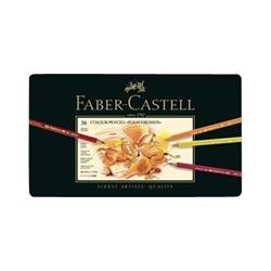 Faber Castell - Faber-castell polychromos - pastello colorato (pacchetto di 36) 110036