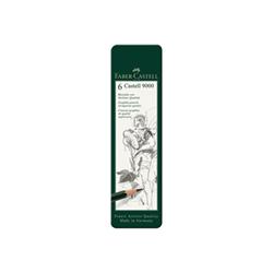 Matita Faber Castell - Cf. metallo 6 matite grafite