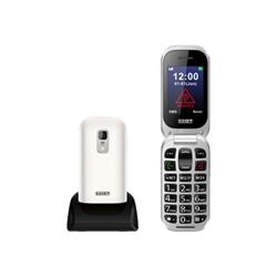 Telefono cellulare Saiet - Unico+ bianco