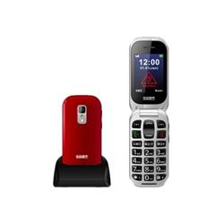 Telefono cellulare Saiet - Unico+ rosso lucido
