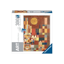Puzzle Ravensburger - Art collection - paul klee: castle and sun 14844