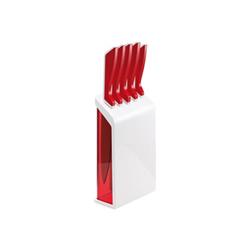GUZZINI - Set 5 coltelli con ceppo coltelli r
