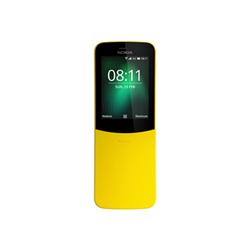 Smartphone Nokia - 8110 4G Giallo 4 GB Dual Sim Fotocamera 2 MP