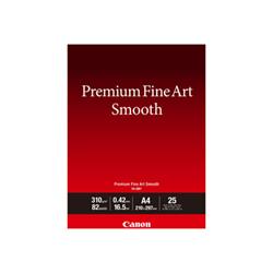 Carta fotografica Canon - Premium fine art smooth fa-sm1 - carta fotografica - liscia - 25 fogli 1711c001