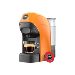 Macchina Caff/è con Capsule A Modo Mio LM800 Tiny Arancione