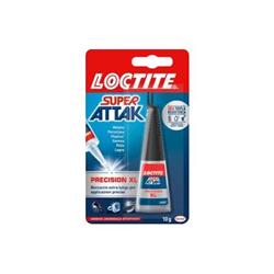 Super attack - Loctite super attak precision maxi - colla - 10 g - trasparente 2048078