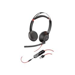 Cuffie con microfono Plantronics - Blackwire 5220 C5220 USB-A WW