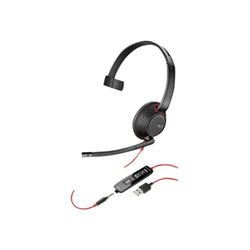 Image of Cuffia con microfono Blackwire C5210 USB A