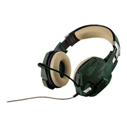 Cuffie con microfono Trust - GXT 322C CARUS GAMING HEADSET - JUNGLE CAMO
