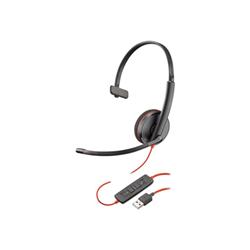 Image of Cuffia con microfono Blackwire C3210 USB-A