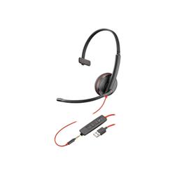 Cuffia con microfono Plantronics - Blackwire,c3215 usb-a